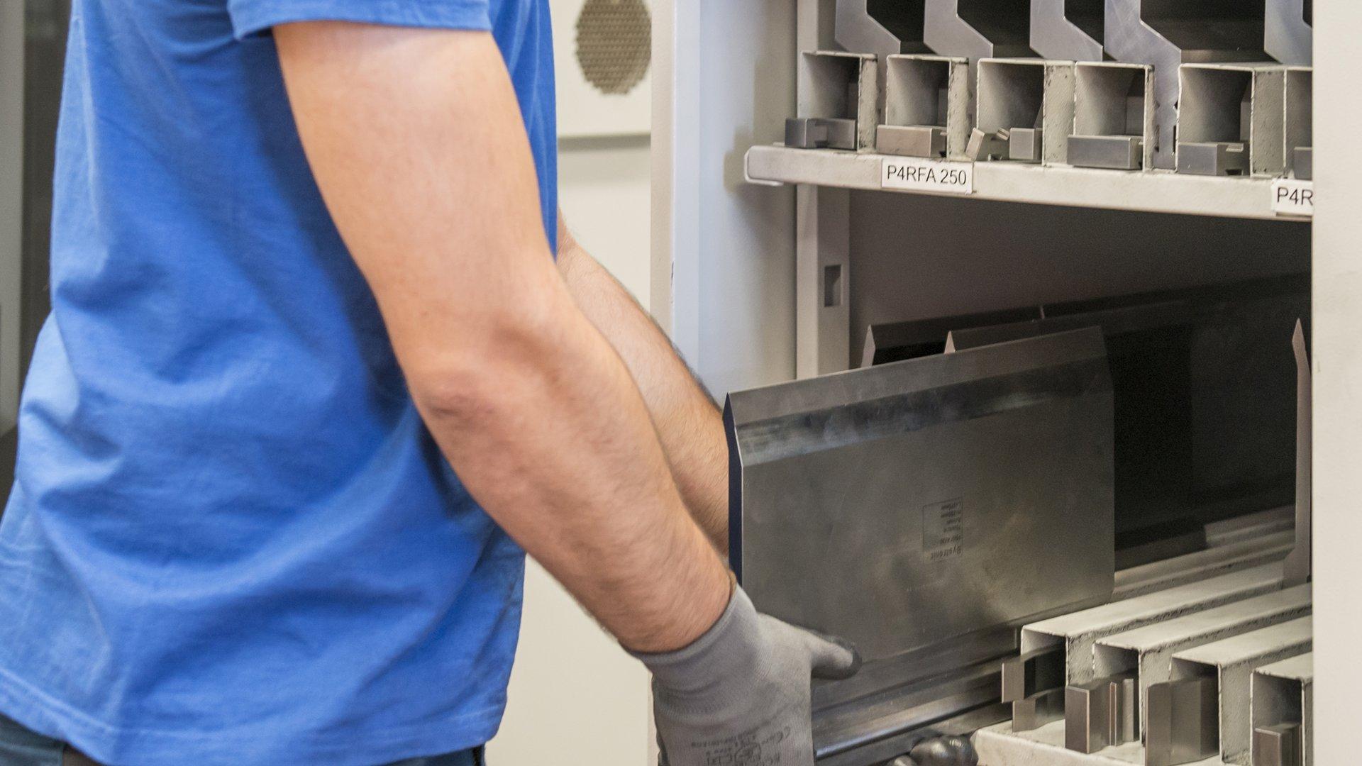 Sheet Metal Bending | VETA's Services